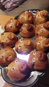 Vegane Glücksschweinchen :)