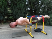 Bend Arms Planche am Lebert Equalizer