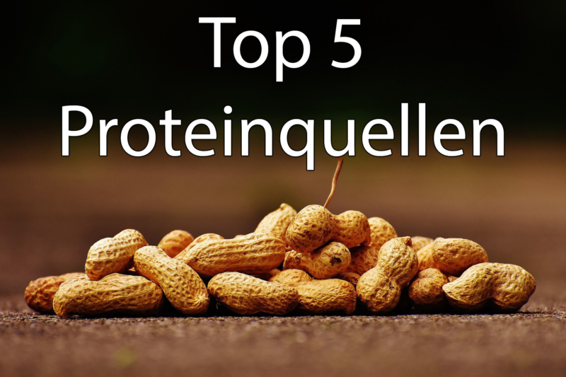 Unsere Top 5 pflanzlichen Proteinquellen
