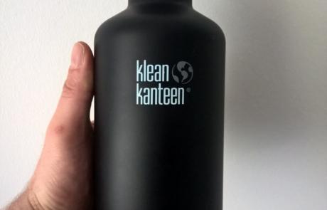 Nachhaltige Produkte für Haushalt, Freizeit und Hobby, klean kanteen Trinkflasche aus Edelstahl