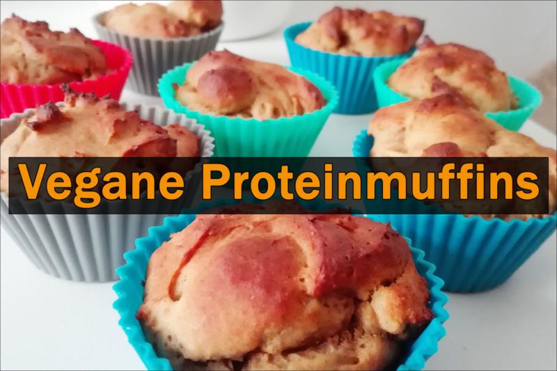 Leckere Vanille - Proteinmuffins - Natural Energizer