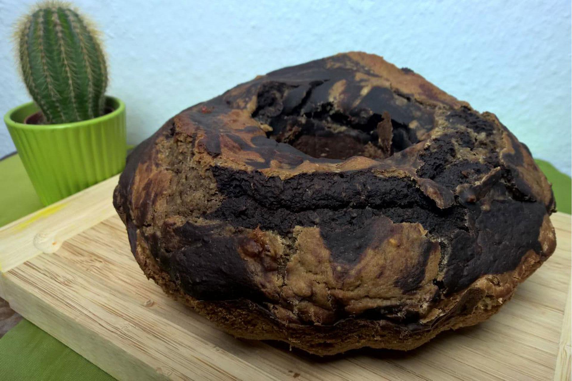 Einfacher veganer Marmorkuchen - Natural Energizer