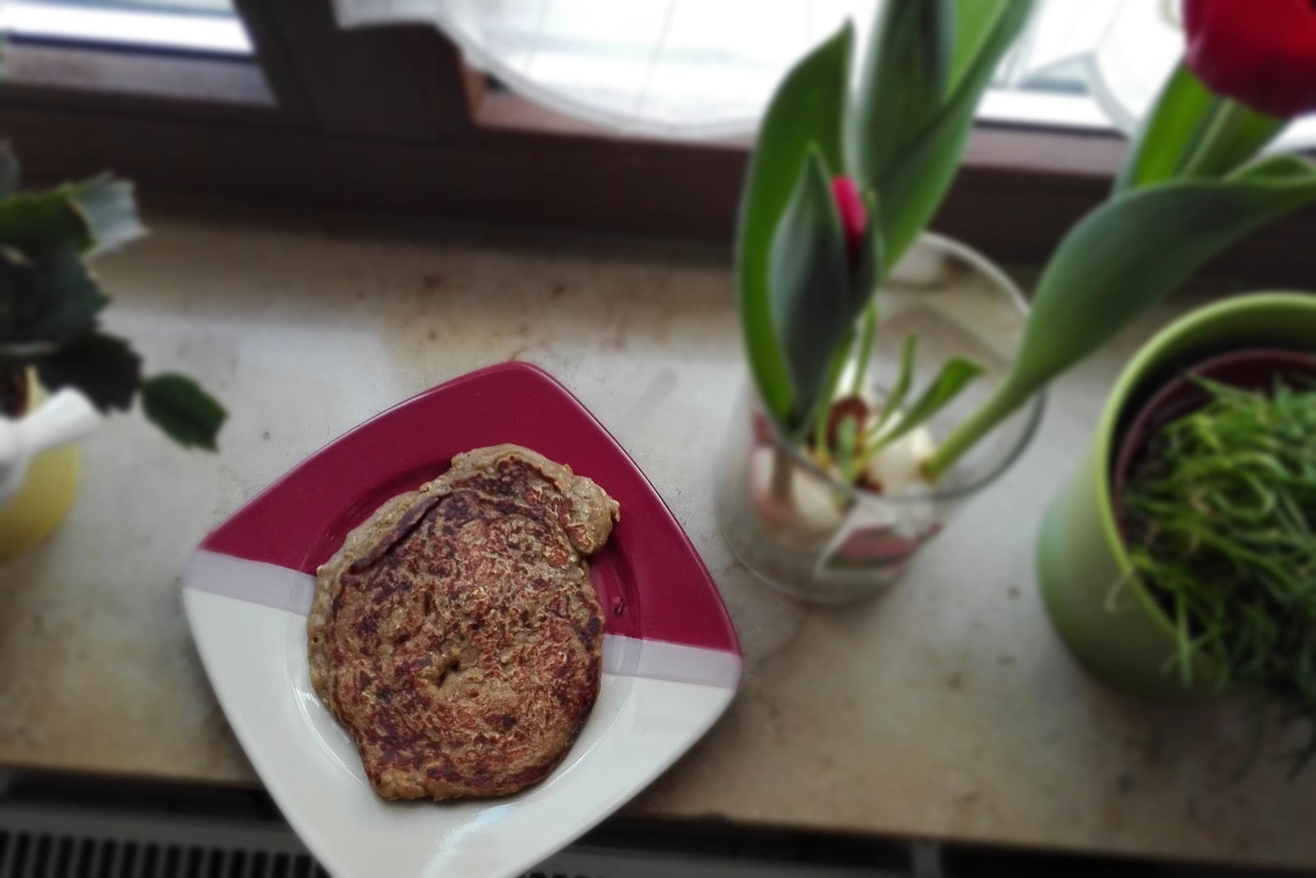 Vegane Proteineierkuchen