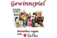 Gewinnt eine vegane Retterbox von SirPlus