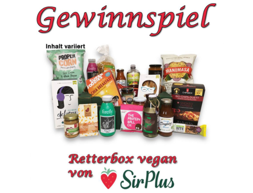 Gewinnspiel – Zusammen mit SirPlus verlosen wir eine vegane Retterbox