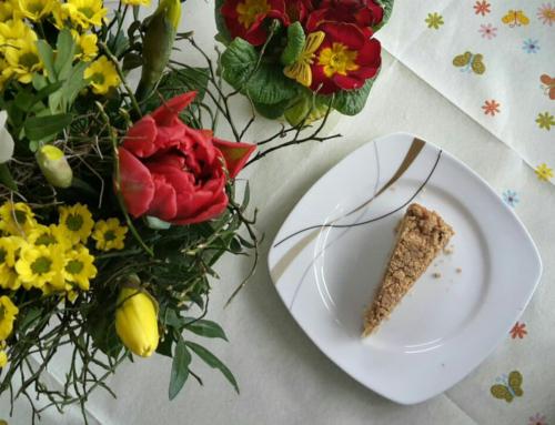 Einfacher veganer Apfelkuchen mit Streuseln – Natural Energizer
