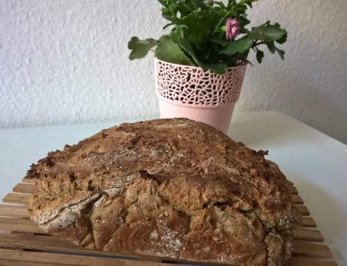 Leckeres mediterranes Brot selbstgemacht