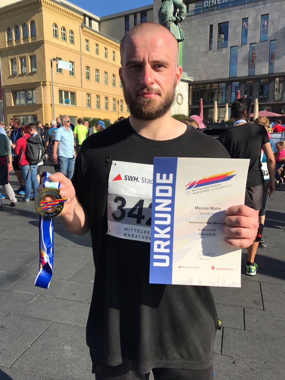 Mitteldeutscher Marathon in Halle